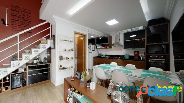Apartamento Loft mobiliado de 58 m², 1 suite e 2 vagas na Vila Andrade 2