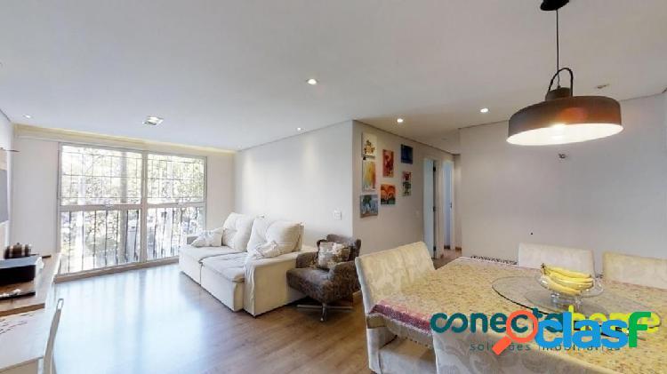 Apartamento de 78 m², 2 dormitórios c/ suite e 1 vaga no jaguaré