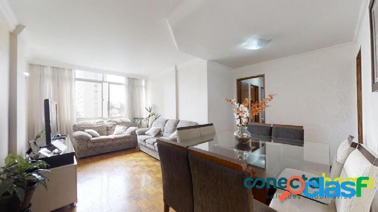 Apartamento de 80 m², 3 dormitórios e 1 vaga em perdizes