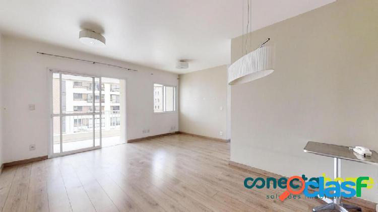 Apartamento de 85 m², 2 dormitórios e 2 vagas no real parque