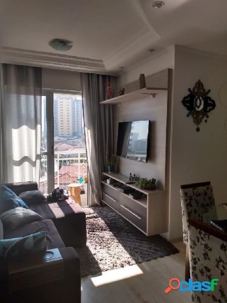 Apartamento mobiliado à 400 metros do metrô vila prudente.