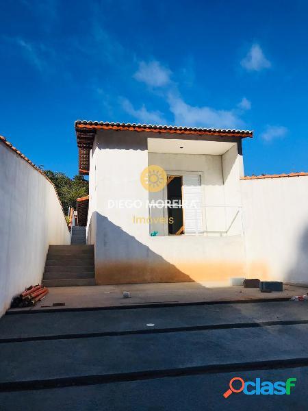 Casa nova á venda em terra preta com 3 dormitórios temos 4 unidades