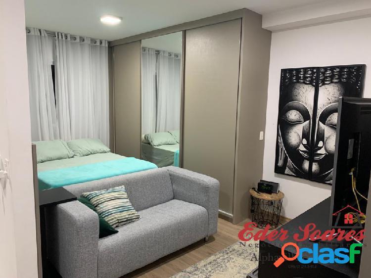 Lindo studio á venda no condomínio splendya 2, com móveis planejados.