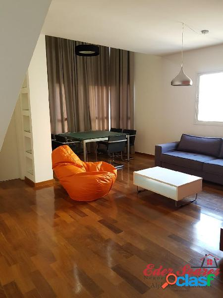 Belíssimo apartamento duplex para locação no alpha park