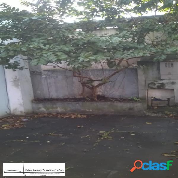 Terreno 200m² - com salão - bairro casa branca- santo andré.