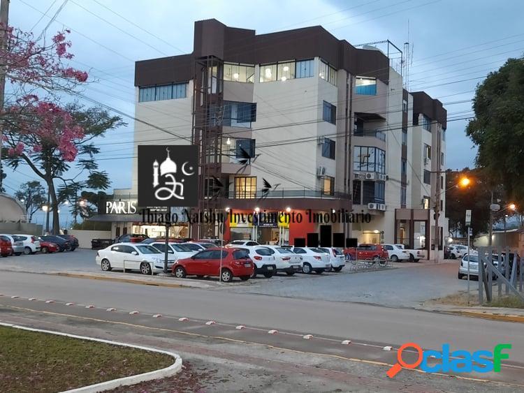 Locação sala comercial ed. vitoria regis - bairro centro - cidade tijucas