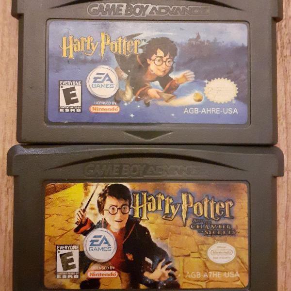2 jogos harry potter gameboy advance