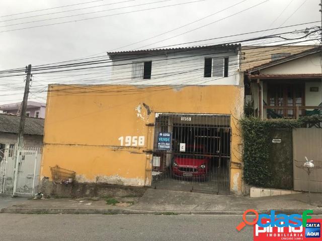 Casa 02 dormitórios, venda, bairro barreiros, são josé, sc