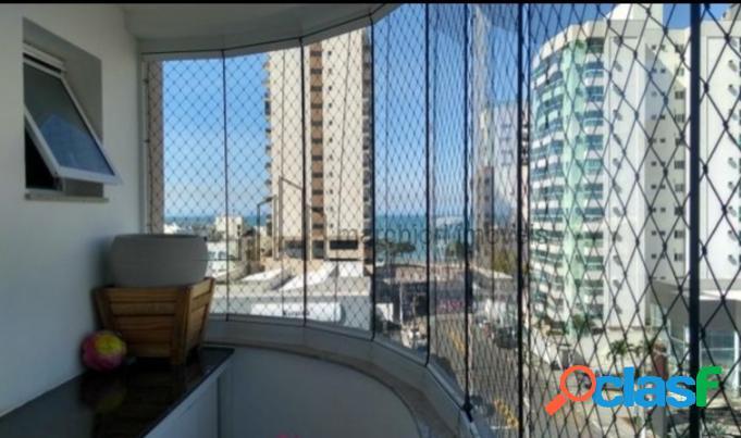 Apartamento com vista pro mar 2 quartos lazer completo