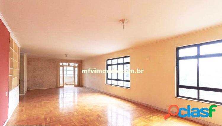 Apartamento amplo de 4 quartos para aluguel na al. santos