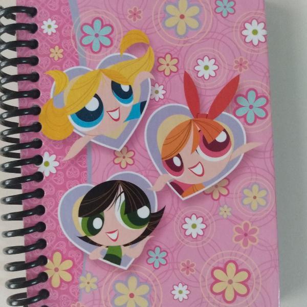 Agenda caderneta meninas super poderosas