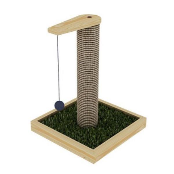 Arranhador para gatos poste vertical