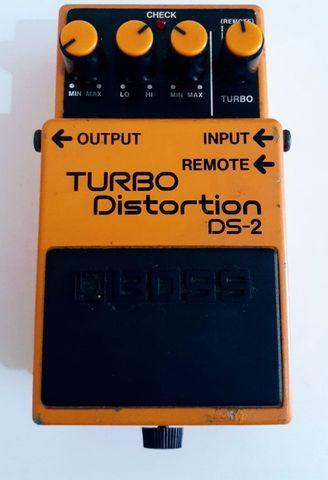 Boss turbo distortion ds-2