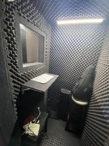 Cabine acústica - estudo / gravação