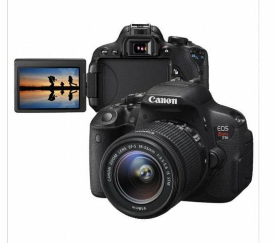 Câmera digital canon eos rebel t7 dslr 24.1mp vídeo full