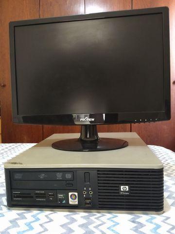 "Computador e monitor 19"""