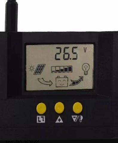 Controlador carga 30a novo modelo