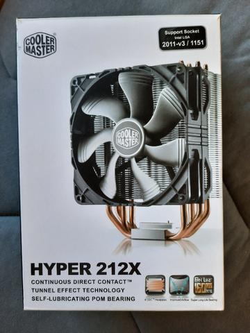 Cooler hyper 212x da cooler master
