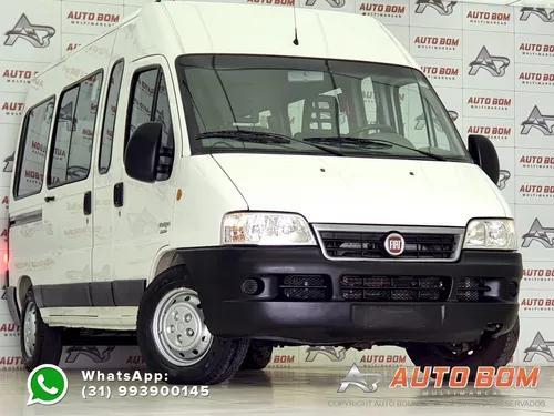 Fiat ducato multijet minibus 2.3 16v diesel teto 15 lugares