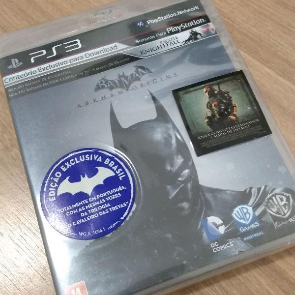 Game - ps3 - batman arkham origins