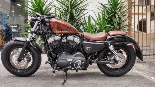 Harley davidson xl 1200 x forty eight laranja 2014