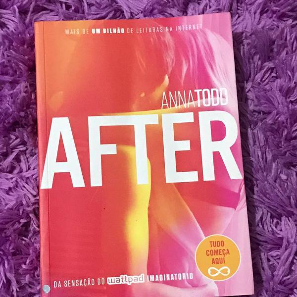 Livro after - anna todd