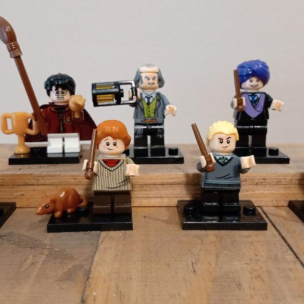 Lego harry potter bloco de montar kit 07 minifiguras