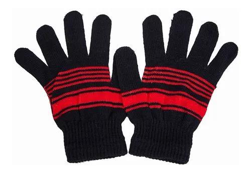 Luva infantil lã inverno várias opções de cores kika