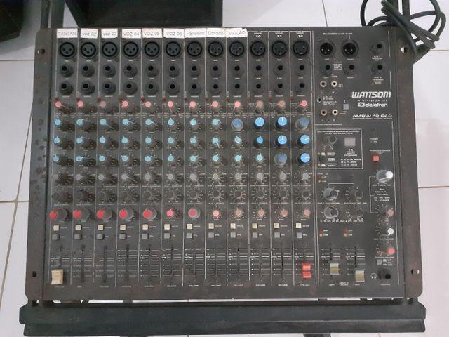 Mesa de som watsson ciclotron