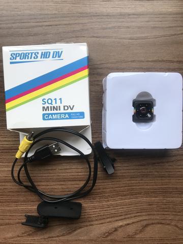 Mini câmera espiã sports multifuncional full-hd 1080p