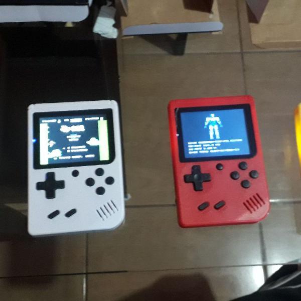 Mini game retrô portatil 400 jogos antigos anos 80