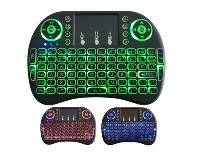Mini teclado wireless touchpad usb