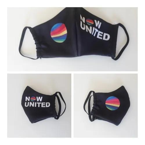 Máscara de proteção lavável de tecido duplo - now united
