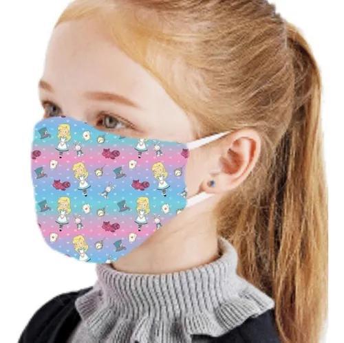 Máscara de proteção lavável não descartável 01 un -