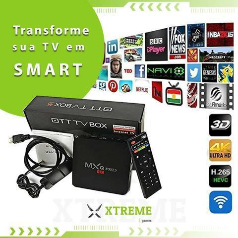Mx 4k pro 5g (4gb ram + 32gb de memoria) (1 mês de tv +