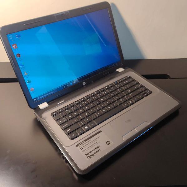 Notebook hp 2000 - funcionando, usado com marca na tela