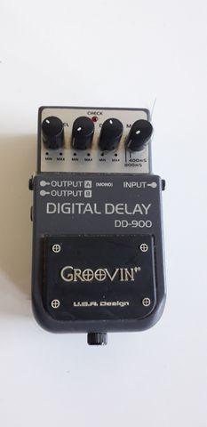 Pedal de dalay digital dalay dd-900 groovin