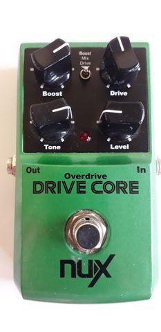 Pedal de overdrive drive core da nux