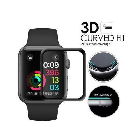 Película 5d nano gel para apple watch 38mm tela inteira