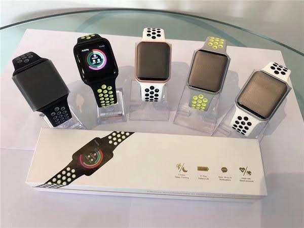 Relógio smartwatch hero 4 / f8 troca pulseira à prova