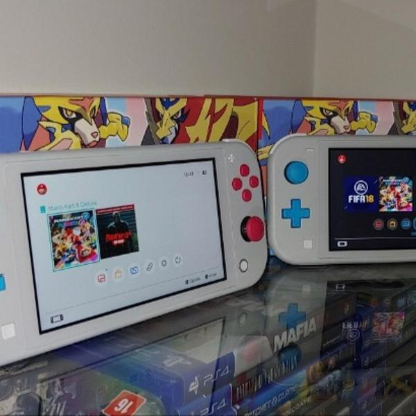 Console nintendo switch lite 32gb ed pokemon novo portatil