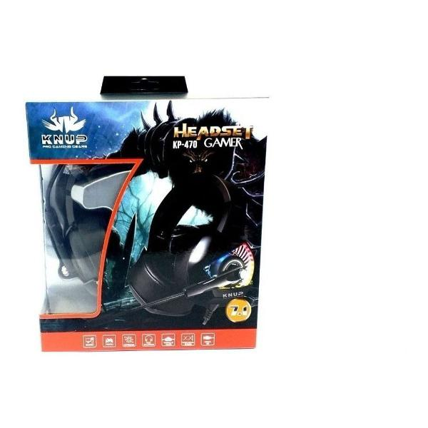 Headset gamer knup com led para ps3, ps4, xbox, one pc