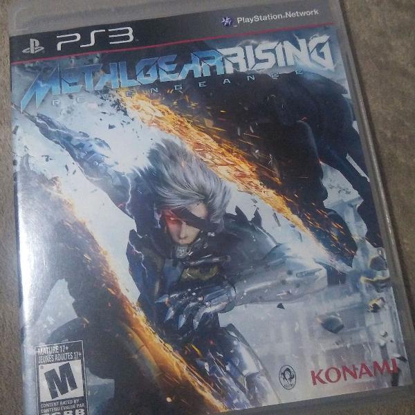 Jogos ps3 - metal gear rising