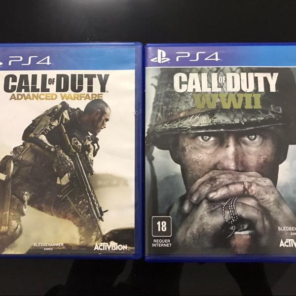 Jogos call of duty - advanced warfare & call of duty -