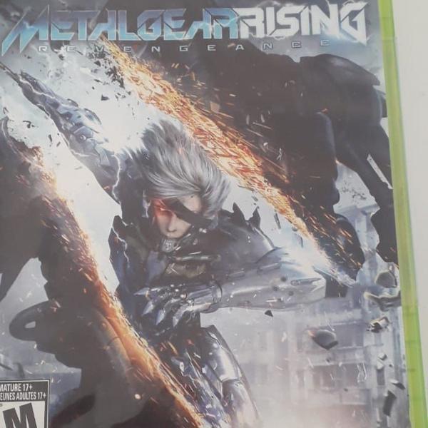 Metal gear rising: reveange- xbox 360