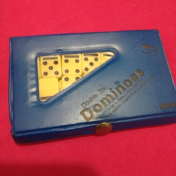 Mini jogo de dominó profissional