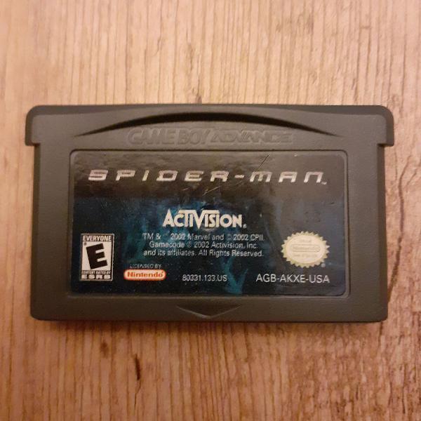 Spider man gameboy advance
