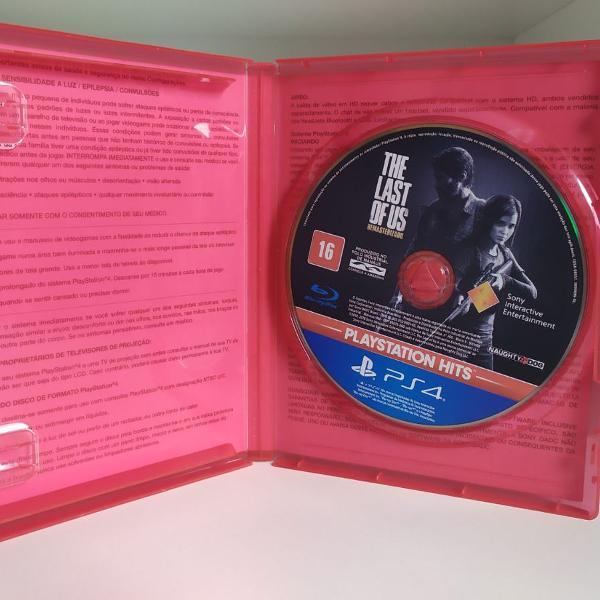 The last of us resmastered - playstation 4