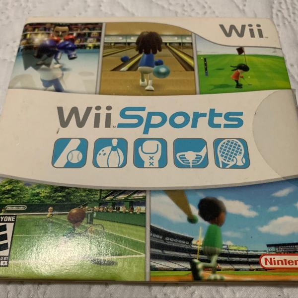 Wii sports completo com manual