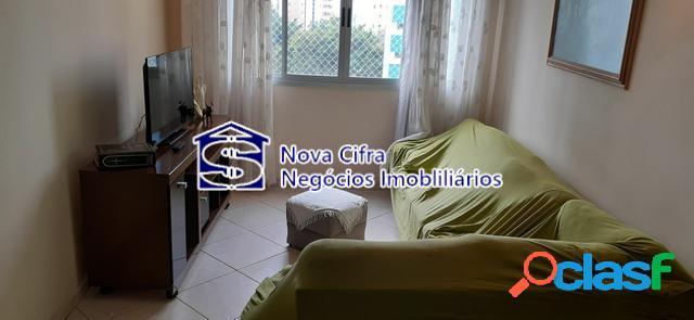 Excelente apto 03 dormitórios (1 suíte) no floradas - 80m²